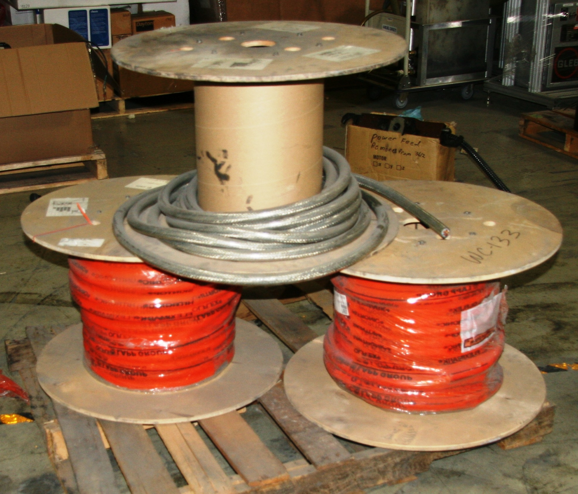 Old Stock Approx 240 Ft Lapp USA 6 AWG Olflex Classic 100 CY 10295