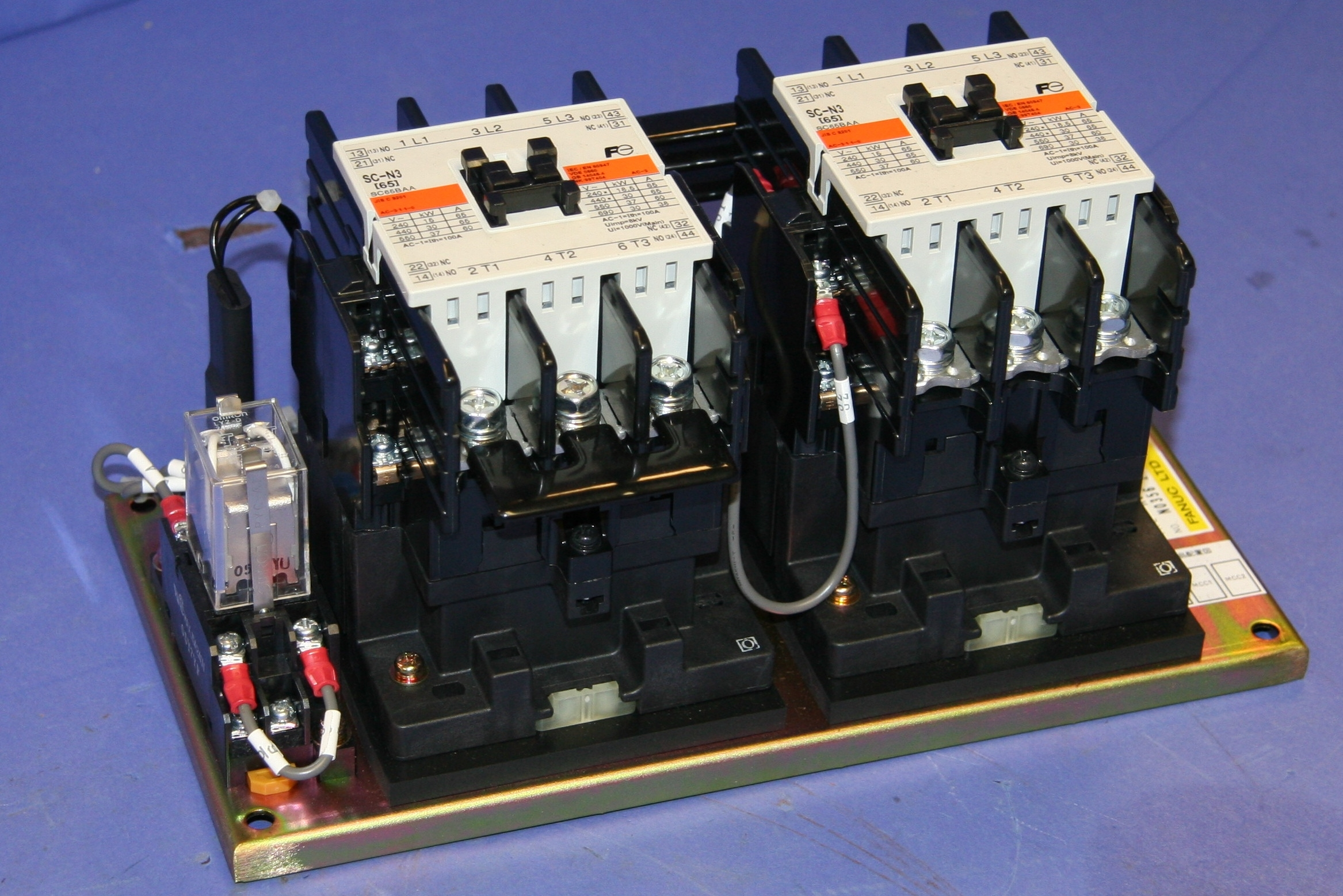 Old Stock GE Fanuc A06B-6078-K035 Switching Unit 10626