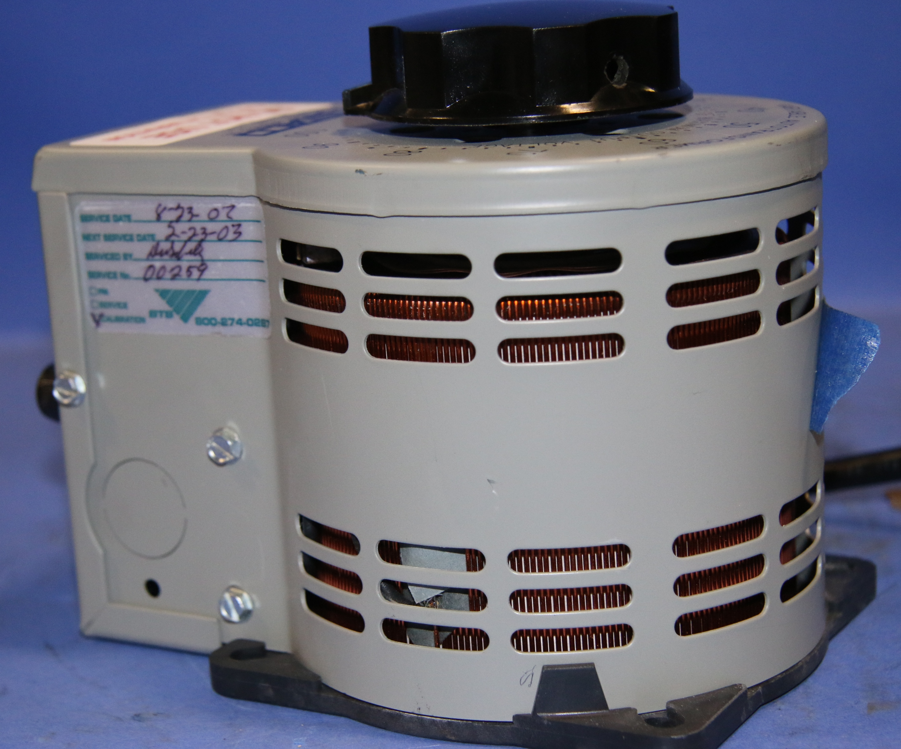 (1) Used Staco Energy Model: 3PN1010B  Variable Transformer Cord Series