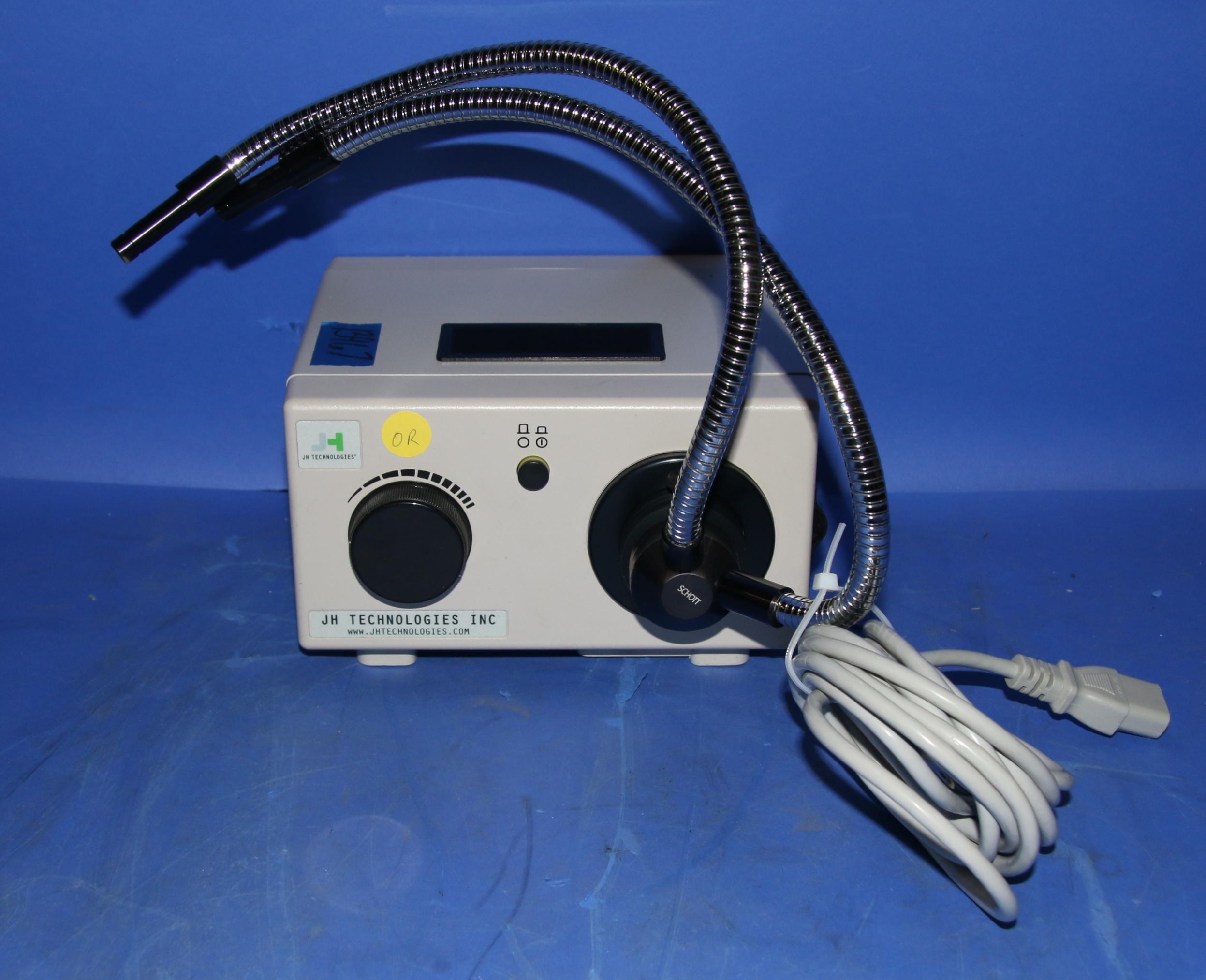 (1) Used JH Technologies MO150 Fiber Optic Illuminator With Split Light Wand