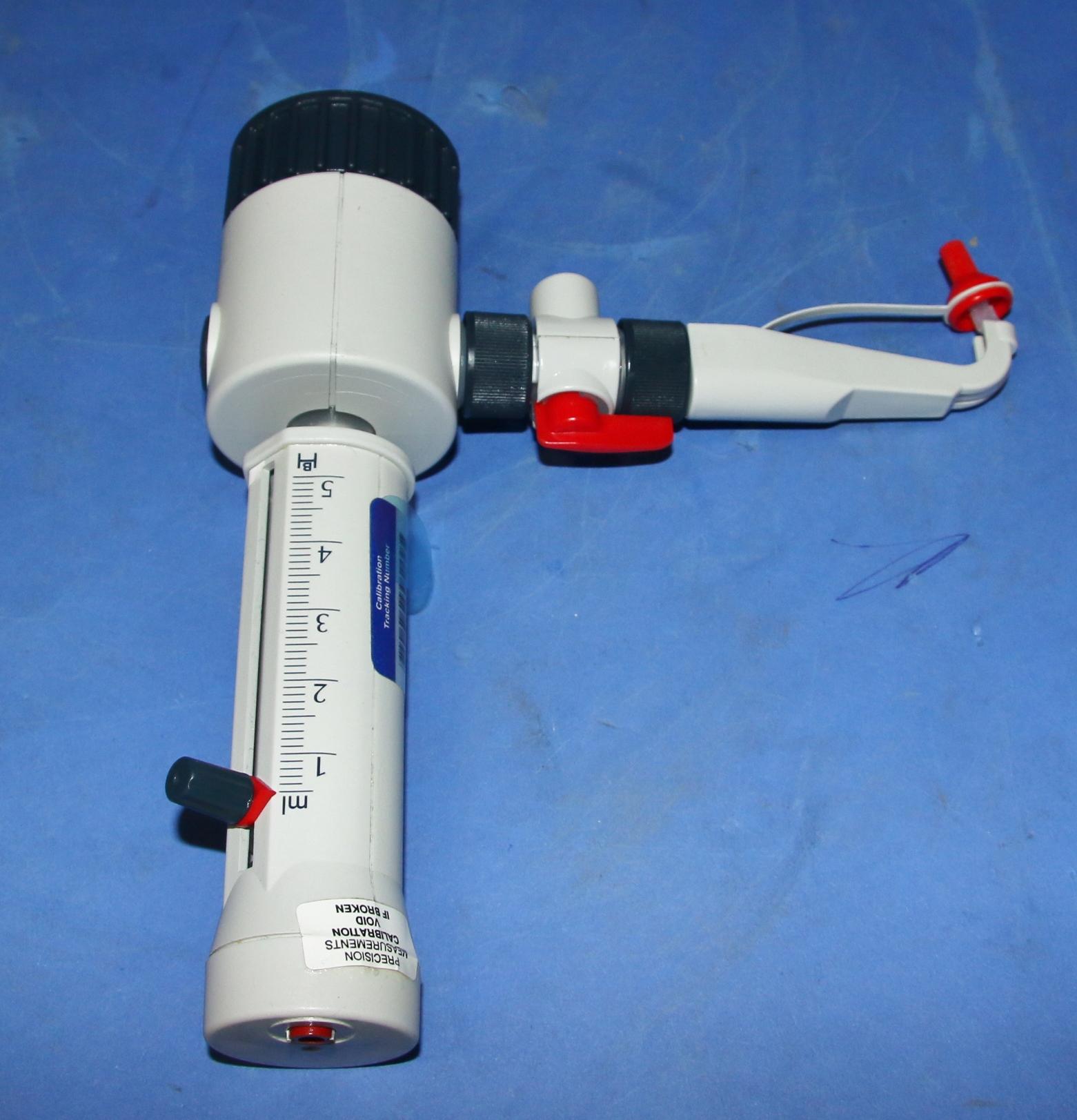 (1) Used Brand Dispensette 5ml – 50ml Bottle Top Dispenser 14090