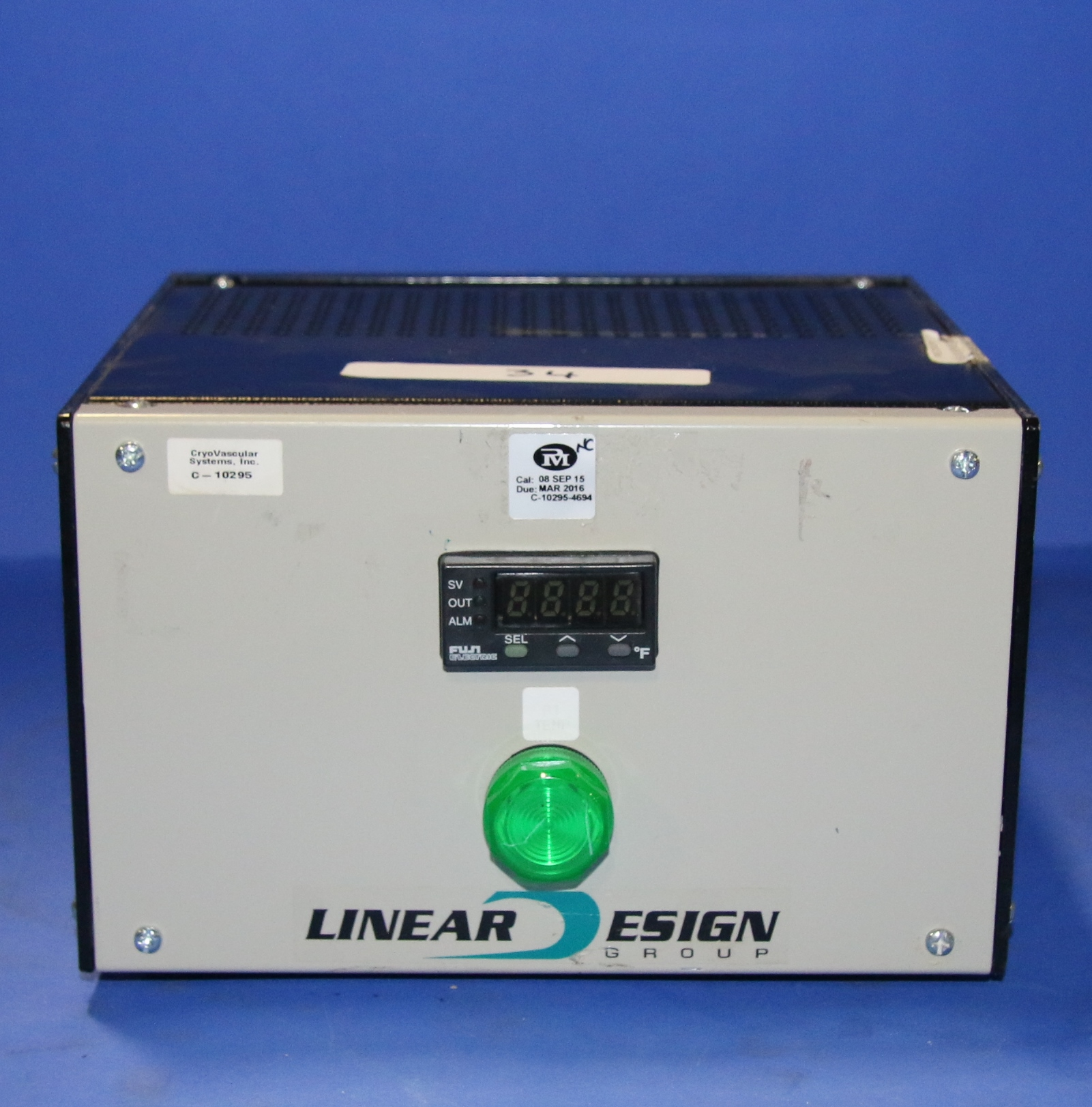 (1) Used Linear Esign Group Dual Channel Temp Control
