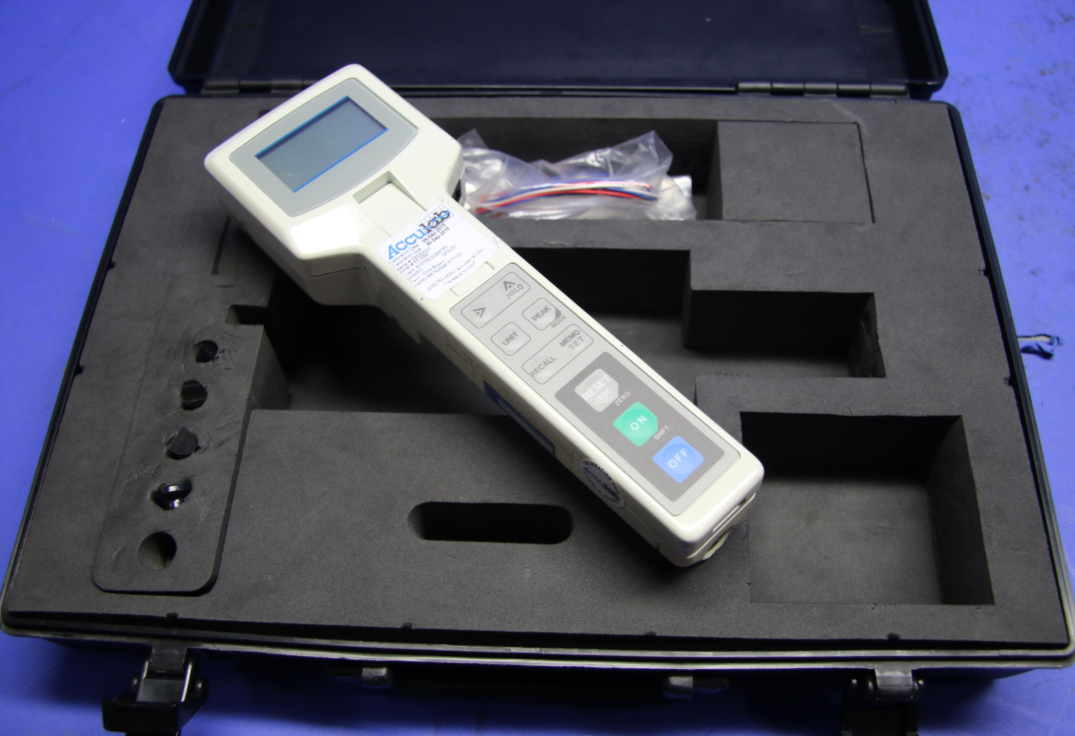 (1) Used Shimpo DFS-10R Digital Force Gauge 15797