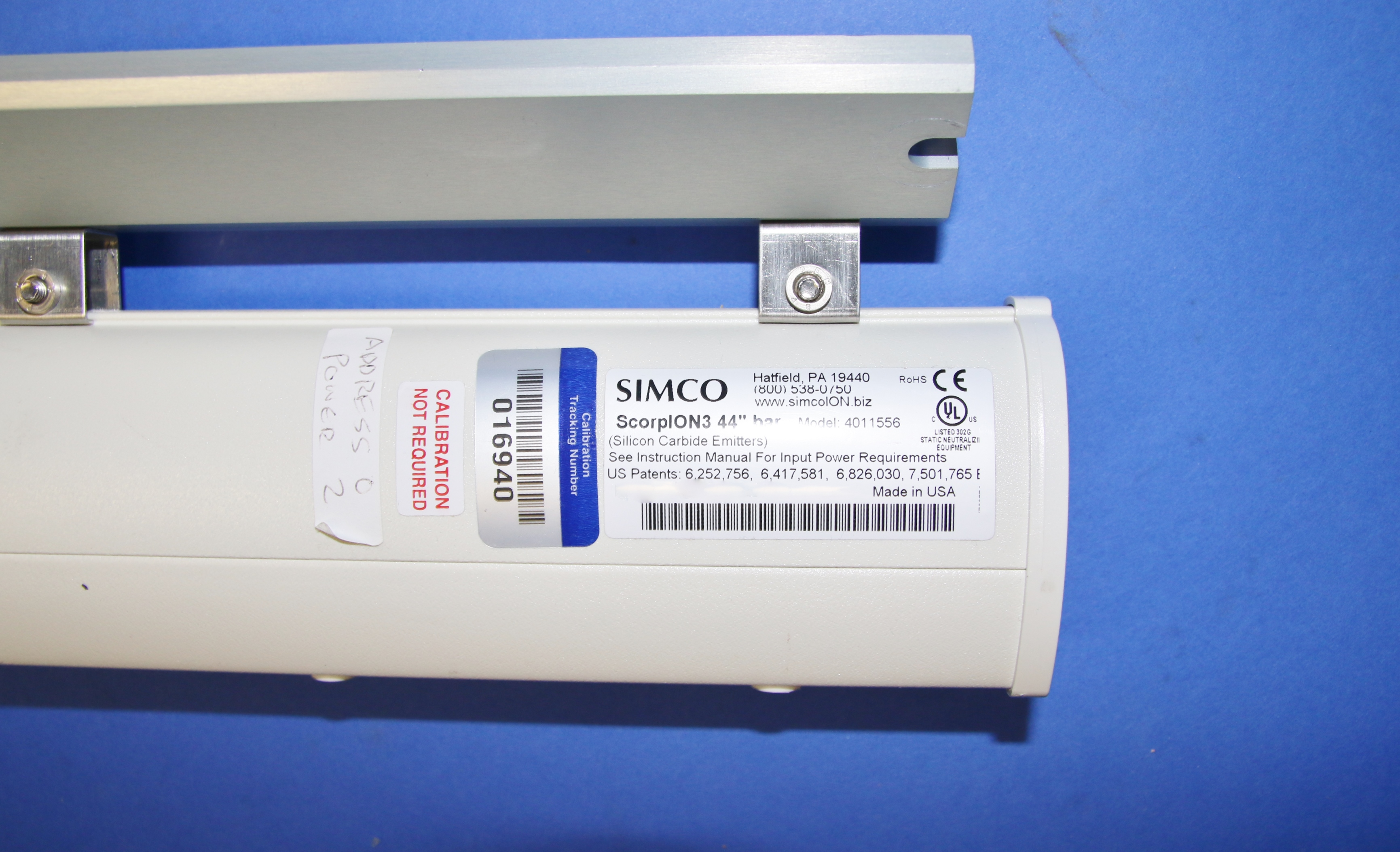 (1) Used Simco 4011556 ScorpION3 44″ Ionizing Bar 15873