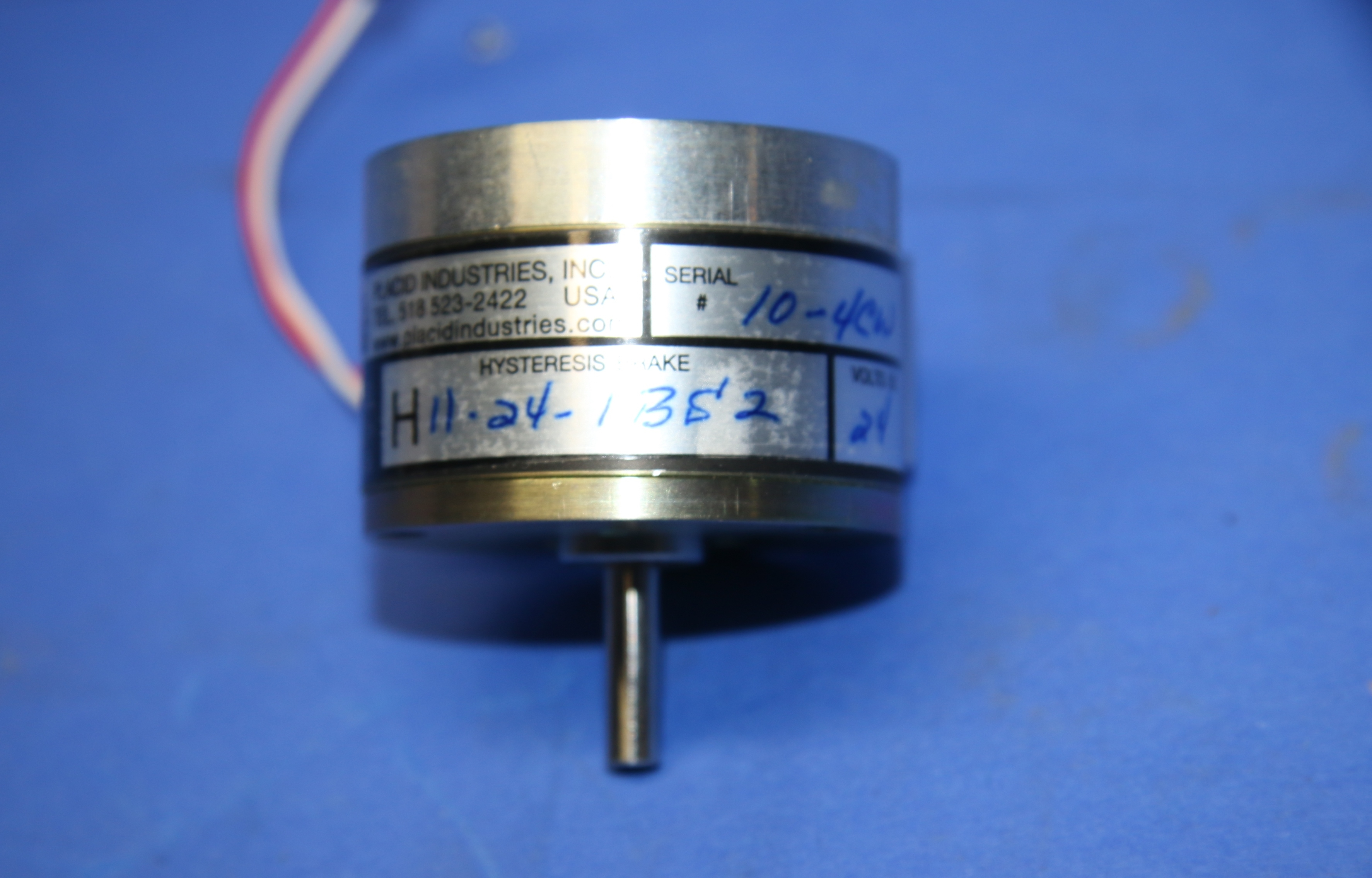 (1) New Placid Industries H11-24-1B52 Magnetic Brake 15978