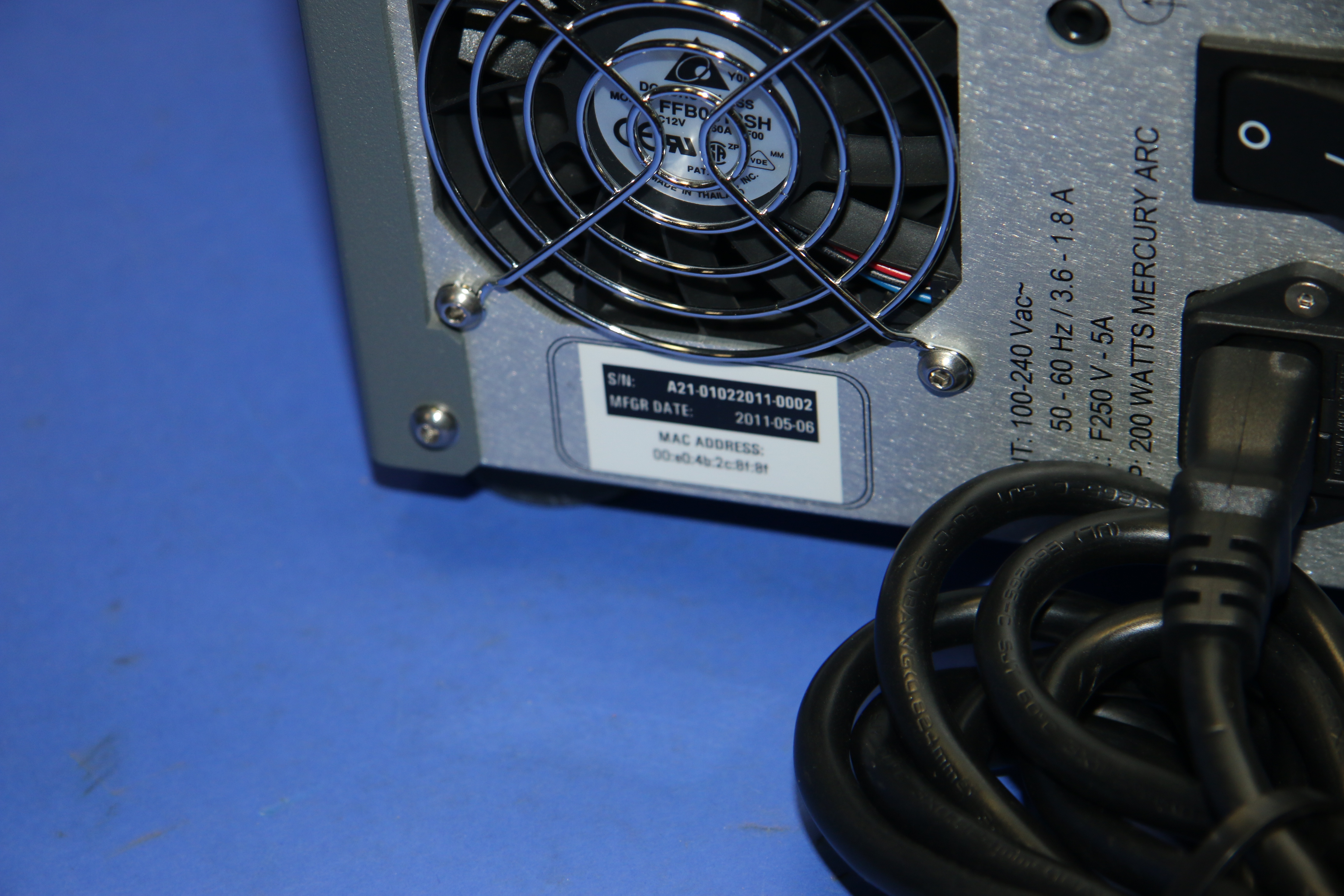 (1) Used IR Photonics  iCure AS200 Infrared Thermal Spot Curing System