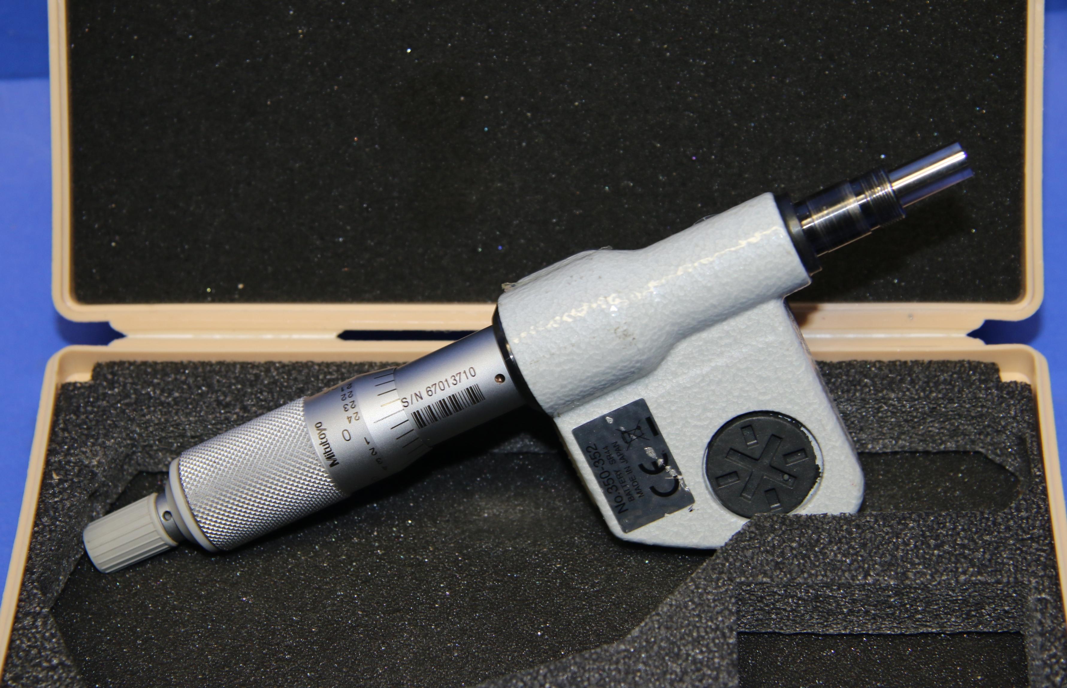 (1) Used Mitutoyo  350-352 Digital Micrometer Head 0″-1″ 16036