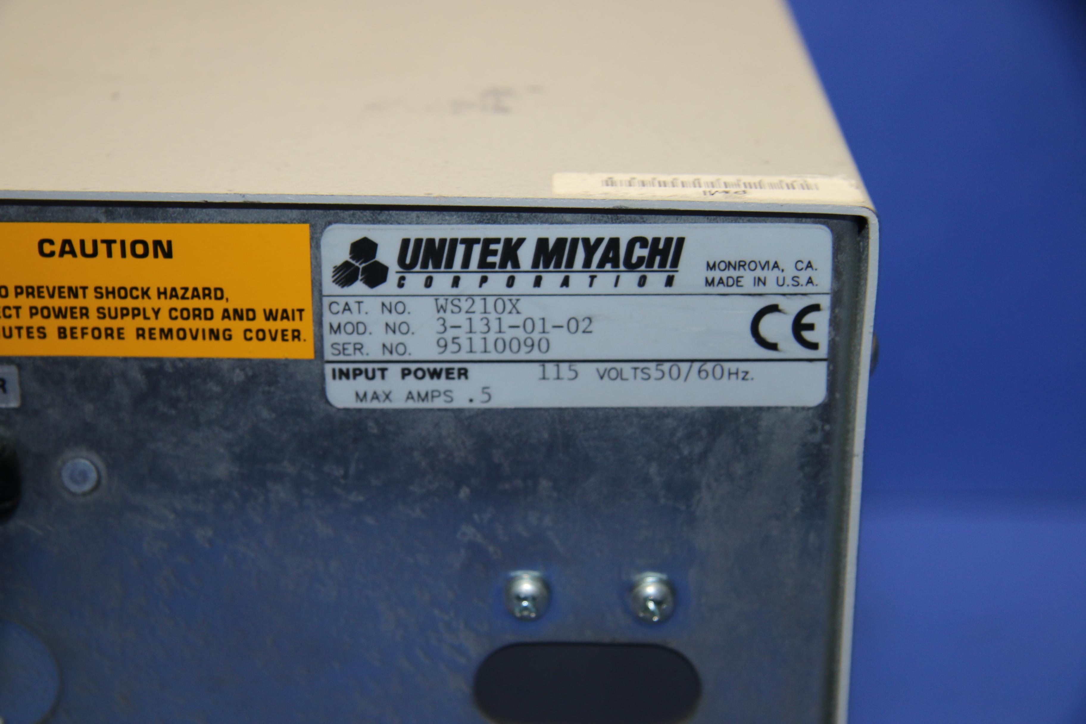 (1) Used Unitek Weld Sentry 2 WS210X 3-131-01-02 Welder 16205