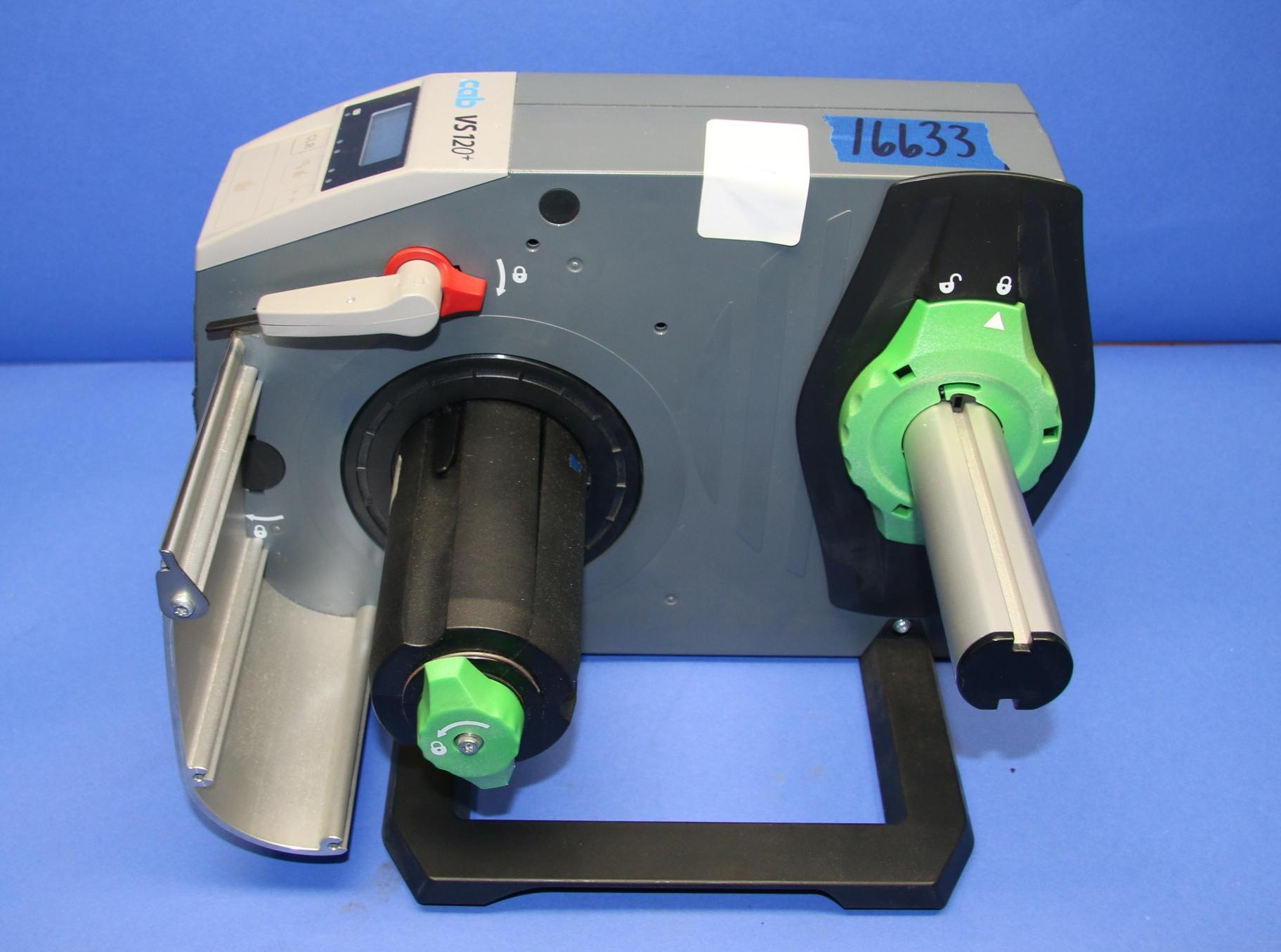 (1) Used CAB VS 120+ Label Dispenser 16633