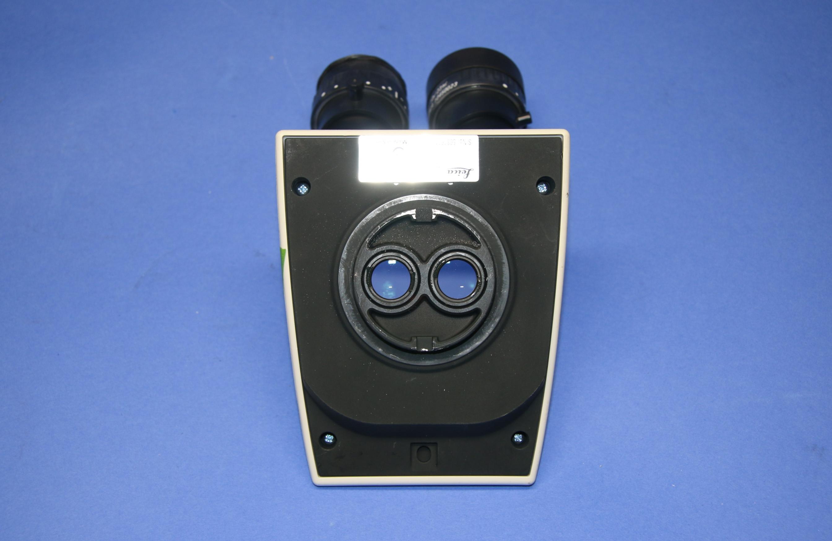 (1) Used Leica MTU268 Inclined Microscope Binocular Head 16854