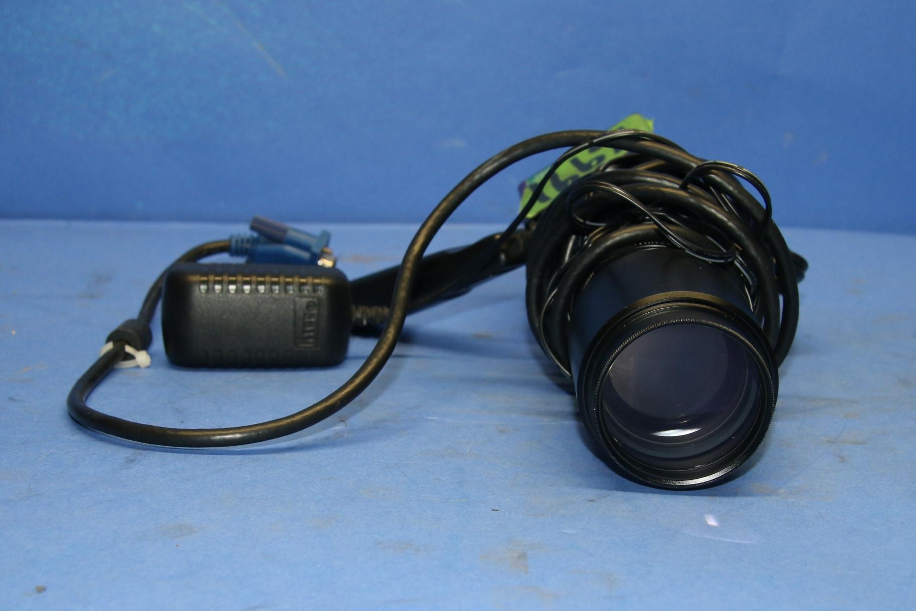 (1) Used Scinscope Camera (1) Used Navitar 7000 TV 16991