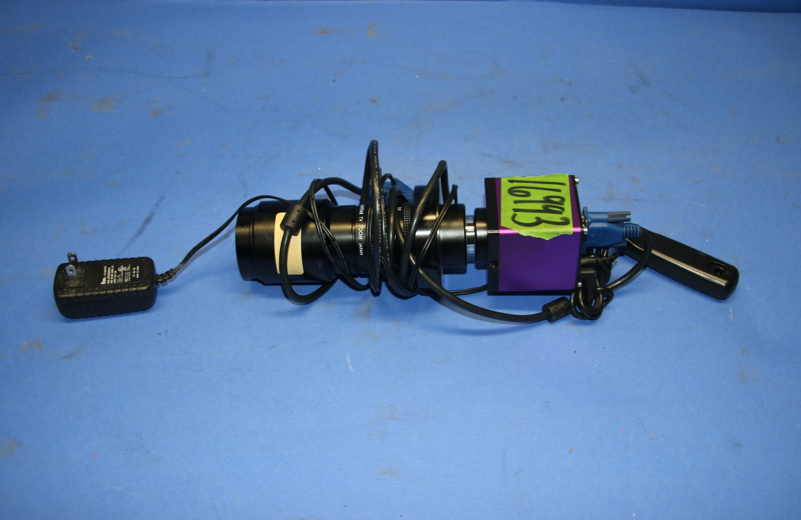 (1) Used Scinscope Camera (1) Used Navitar 7000 TV 16993
