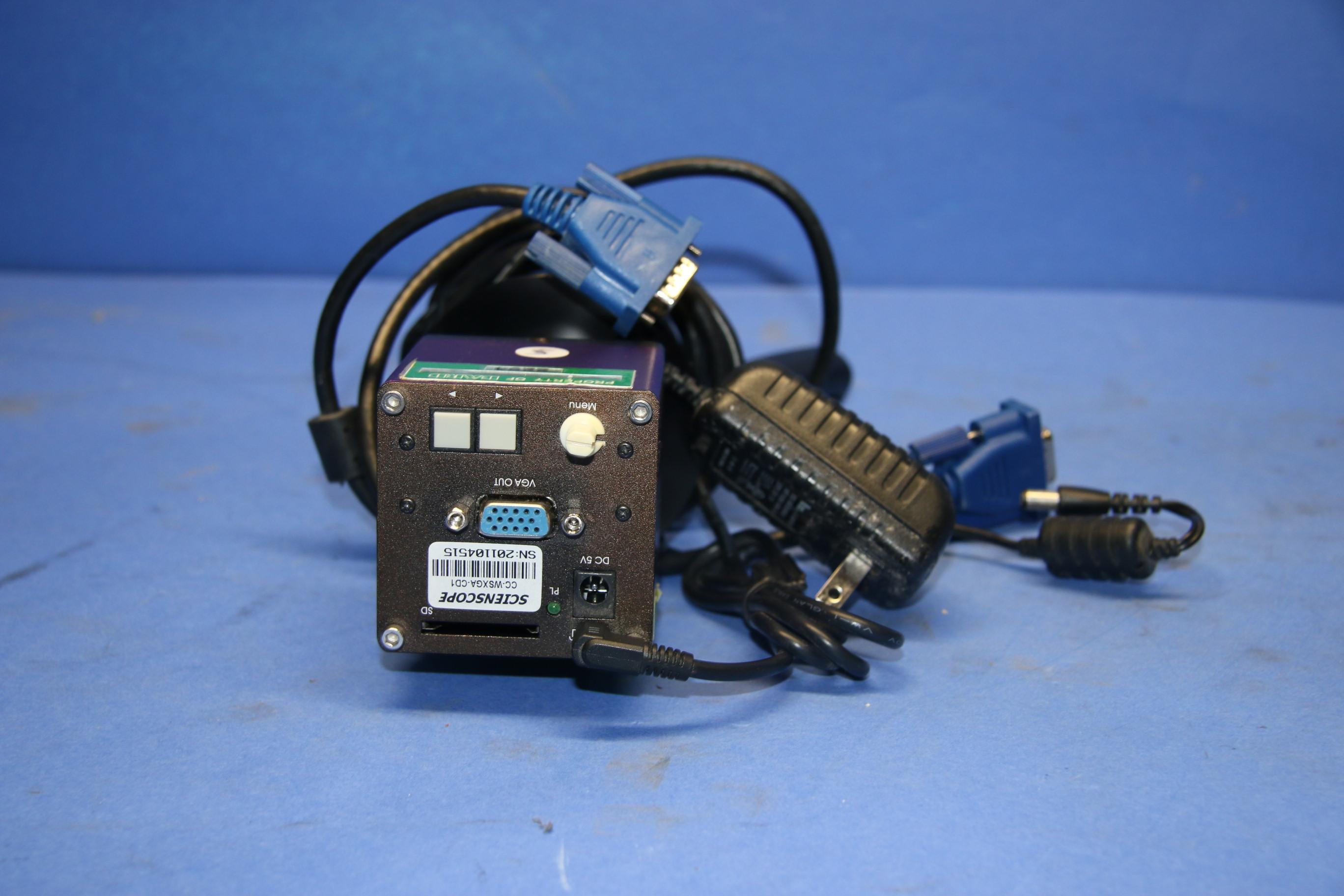 (1) Used Scinscope CC-WSXGA-CD1 Camera 16998
