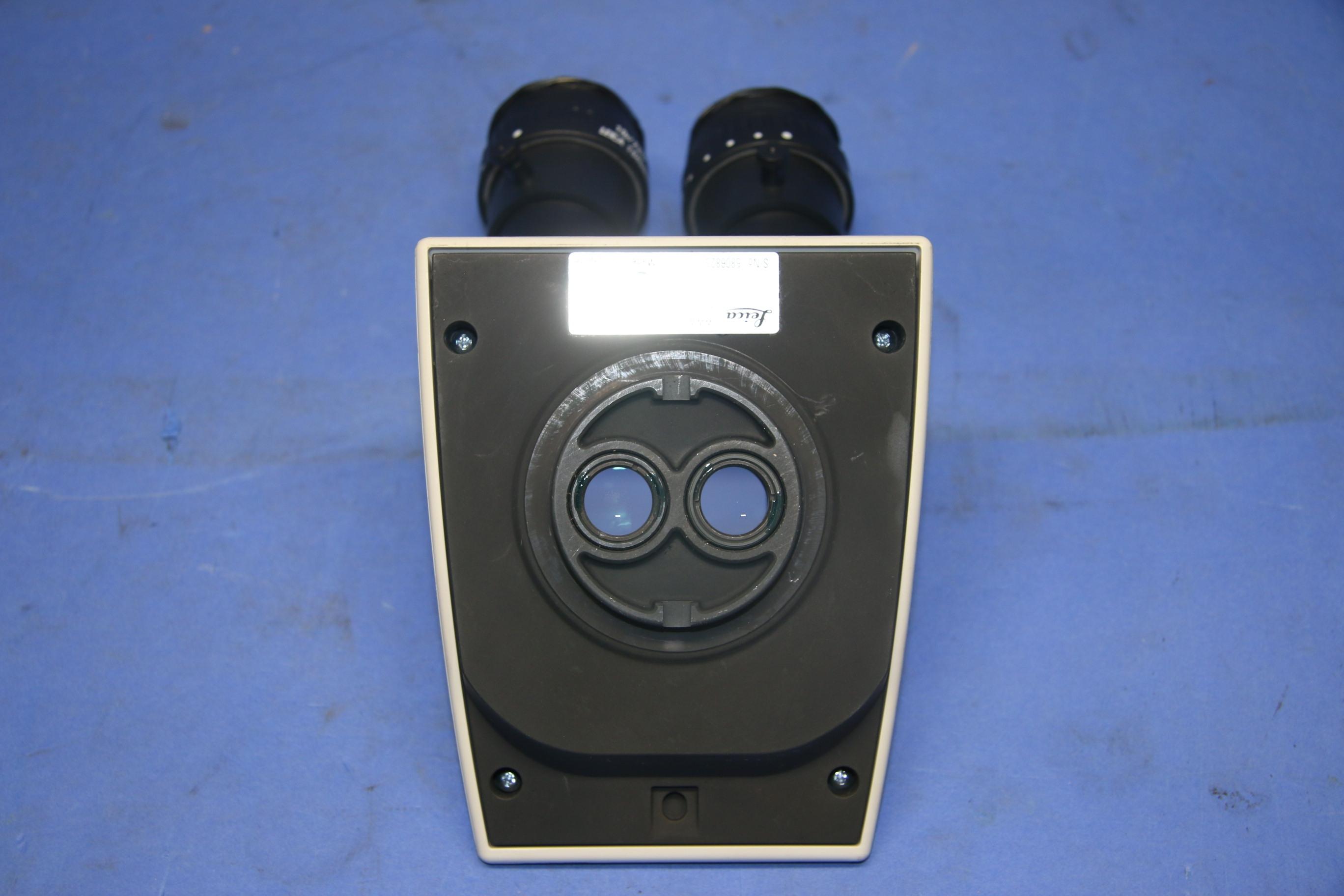 (1) Used Leica MTU268 Inclined Microscope Binocular Head 17042