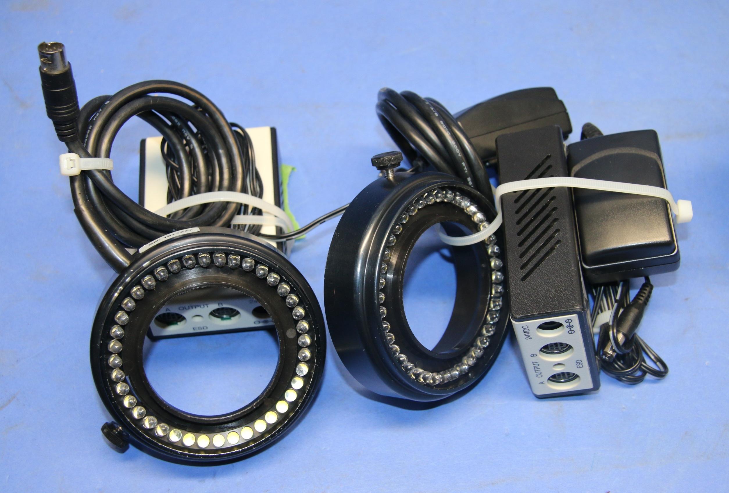 (2) Used Leica 30211001 LED Control Unit 17061