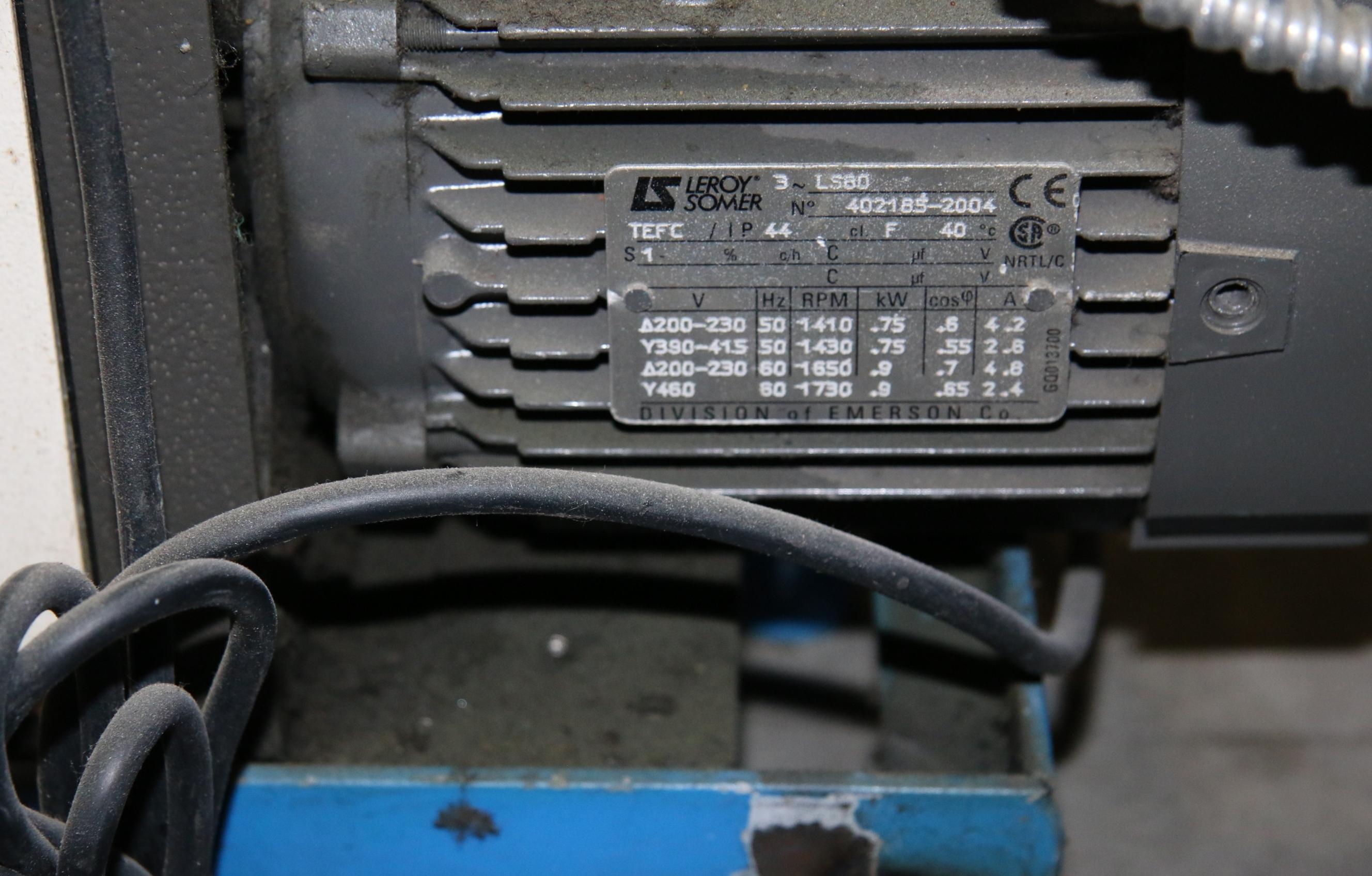 (1) Used Airserco APC-1 Vacuum Process Controler With Pump 17325