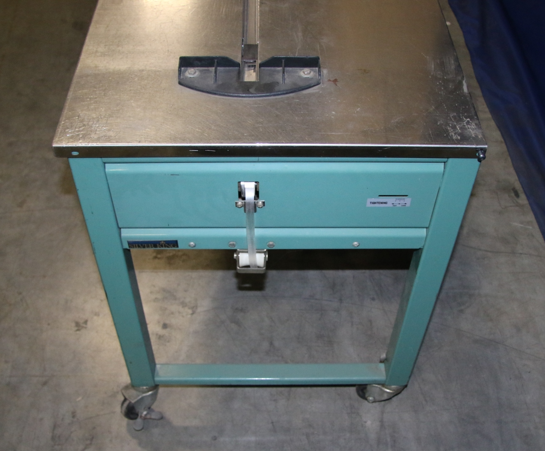 (1) Used Signode TTX Carton Strapping Machine 17339