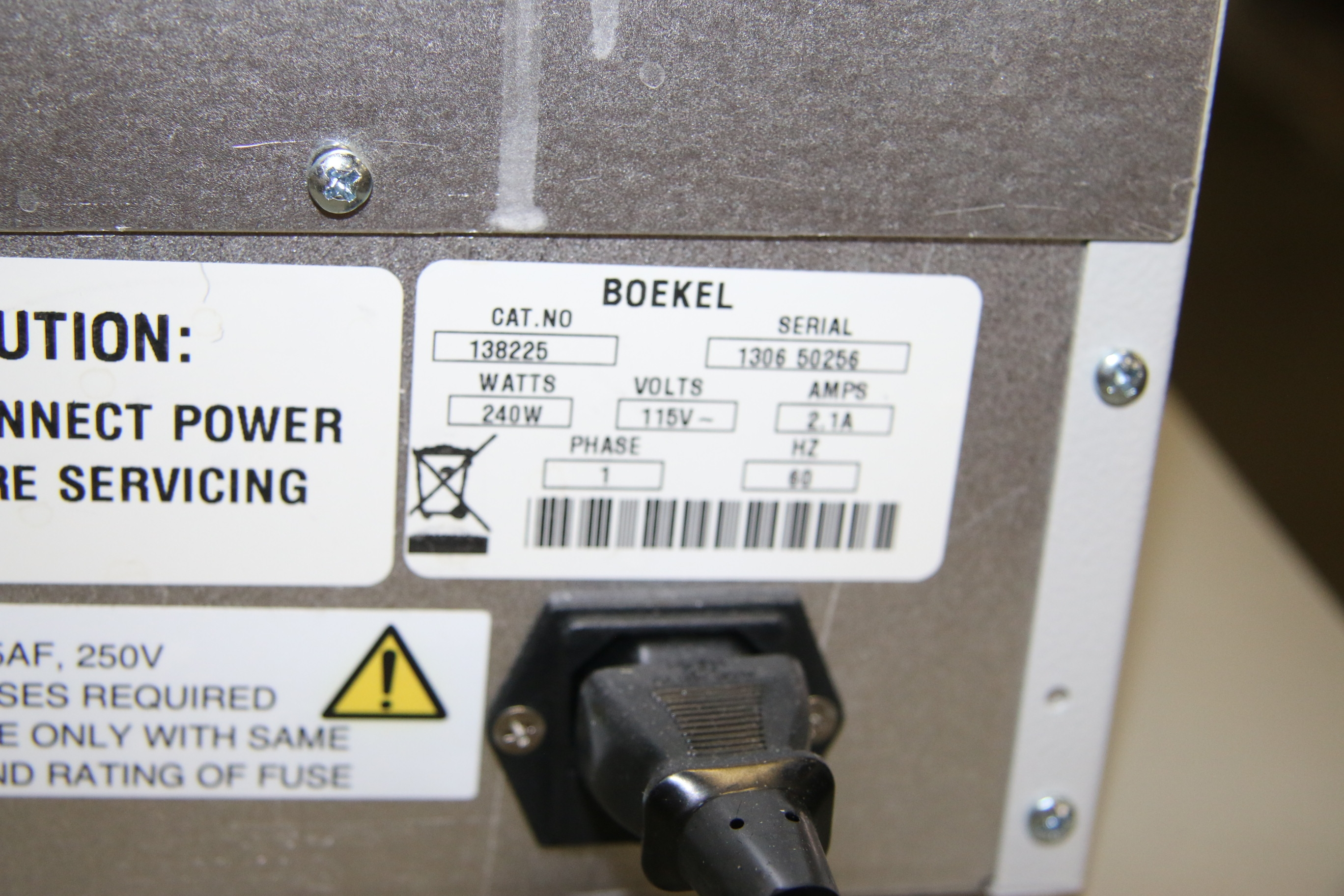 Used Boekel 138225 Small Benchtop Incubator CCC 1.4D 17462