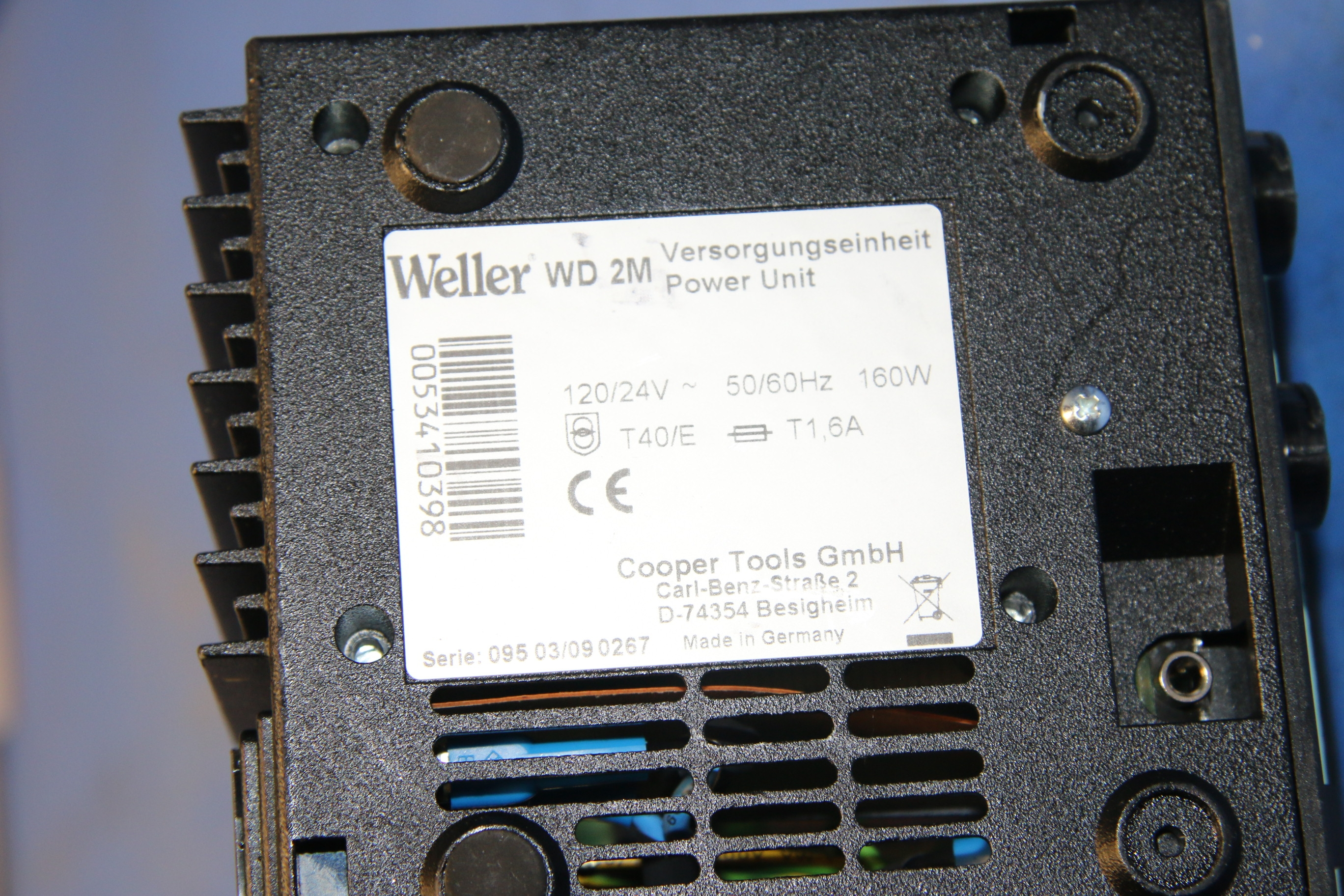 Used Weller WD 2M Soldering System With Power Unit 17601