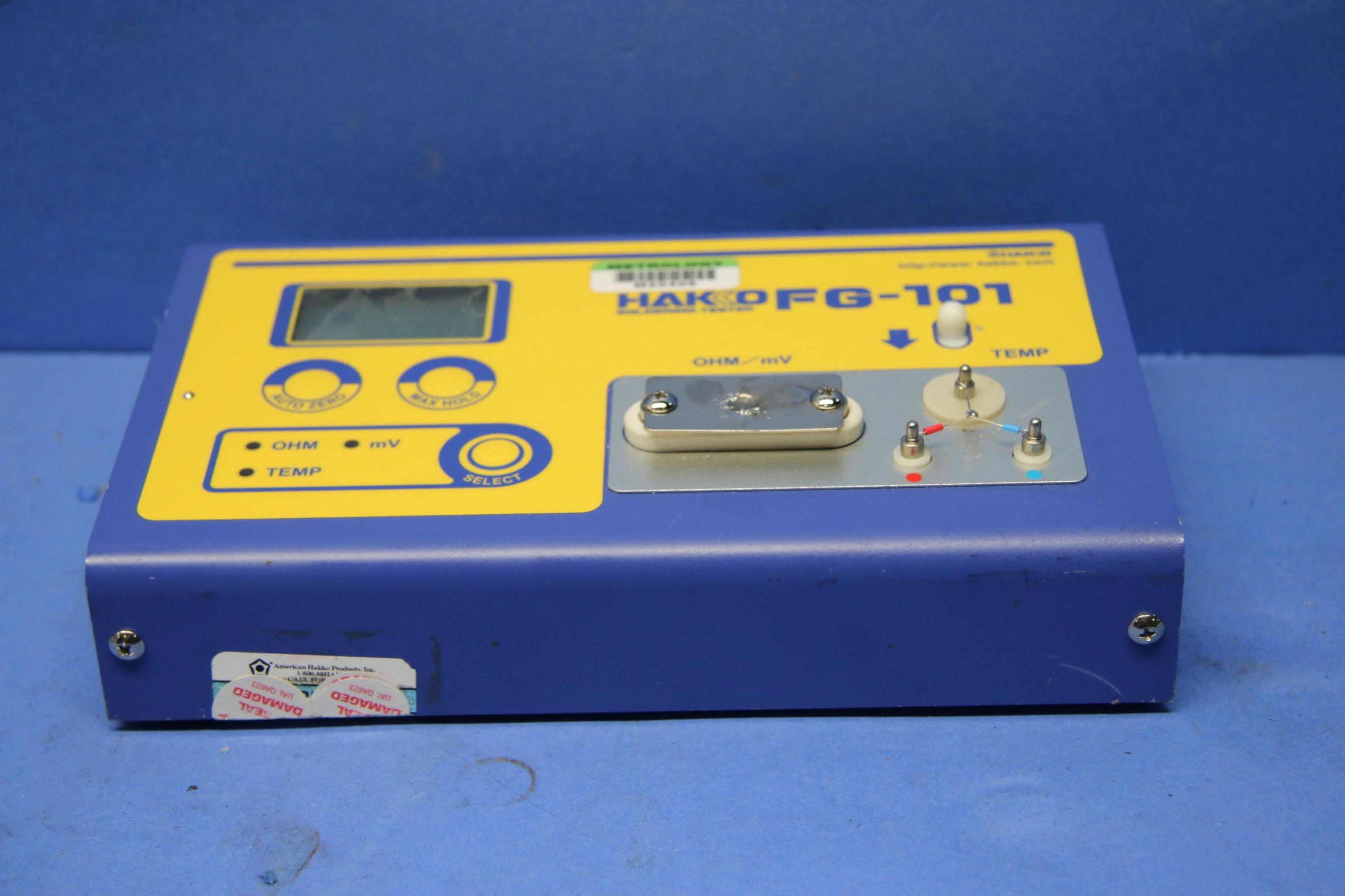 Used Hakko FG-101 Soldering Tester For Tip Temp 17606