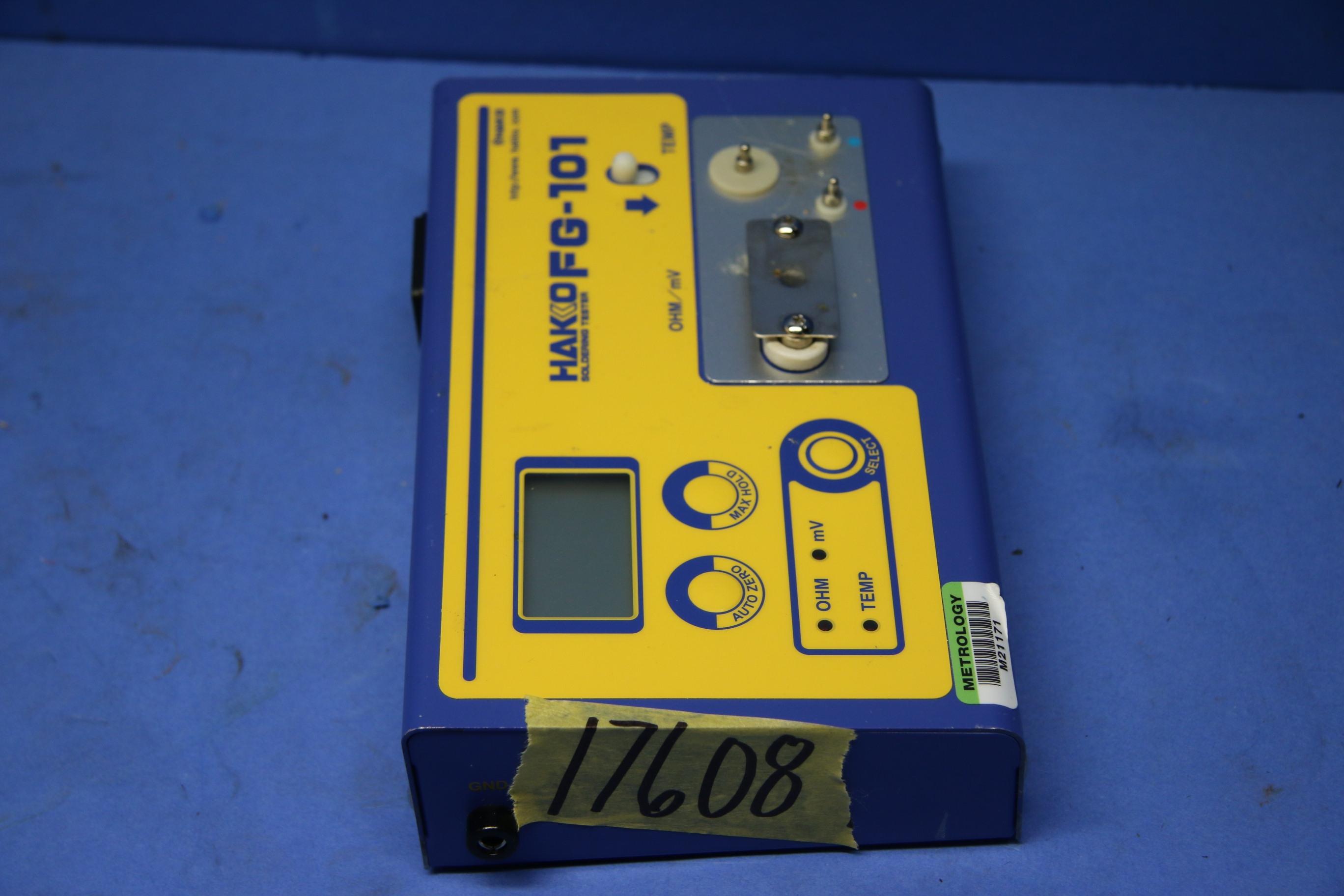 Used Hakko FG-101 Soldering Tester For Tip Temp 17608