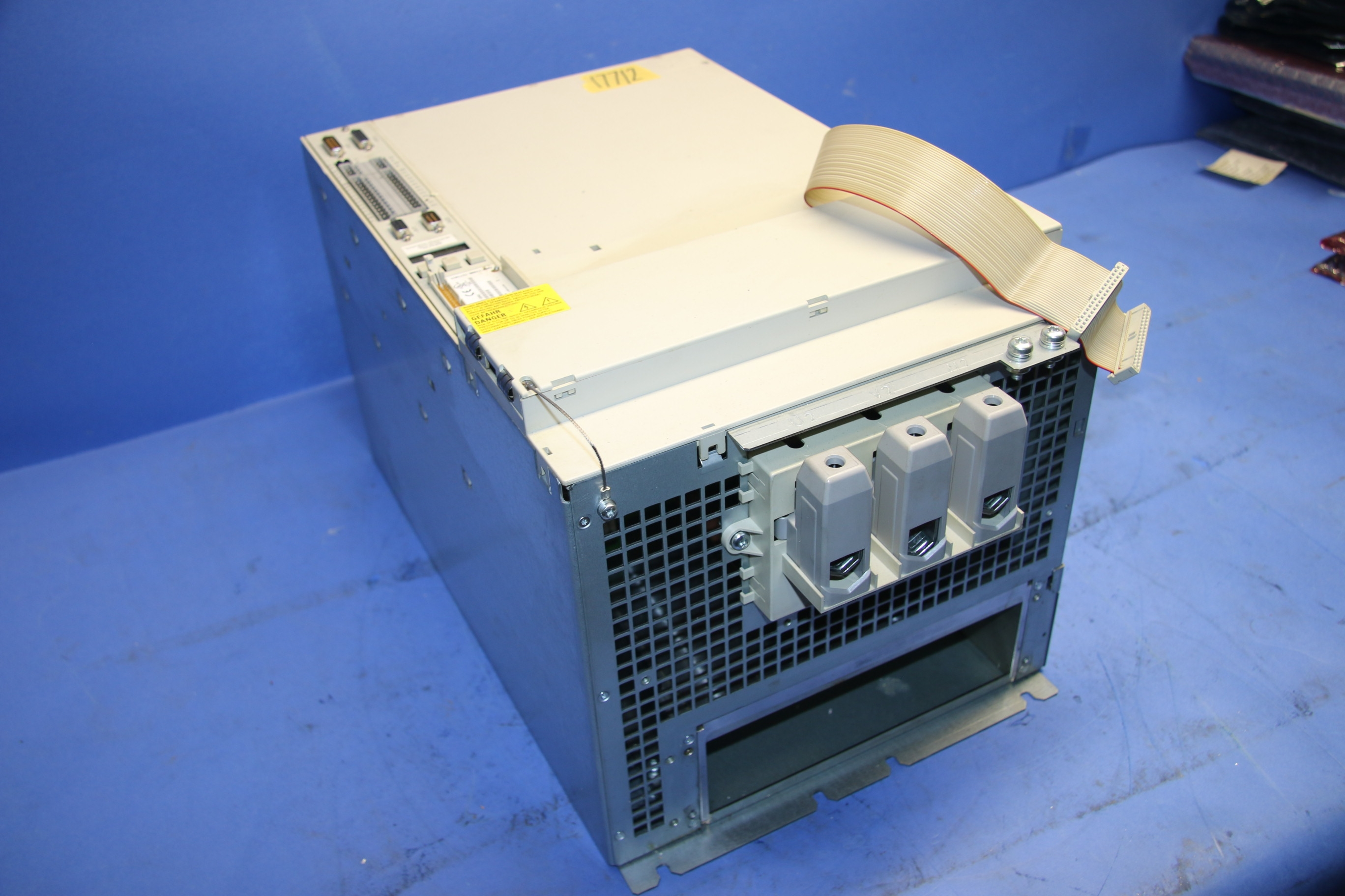 Used Siemens LT-Modul Drive With 6SN1121-0BA11-0AA0 Control Unit 17712