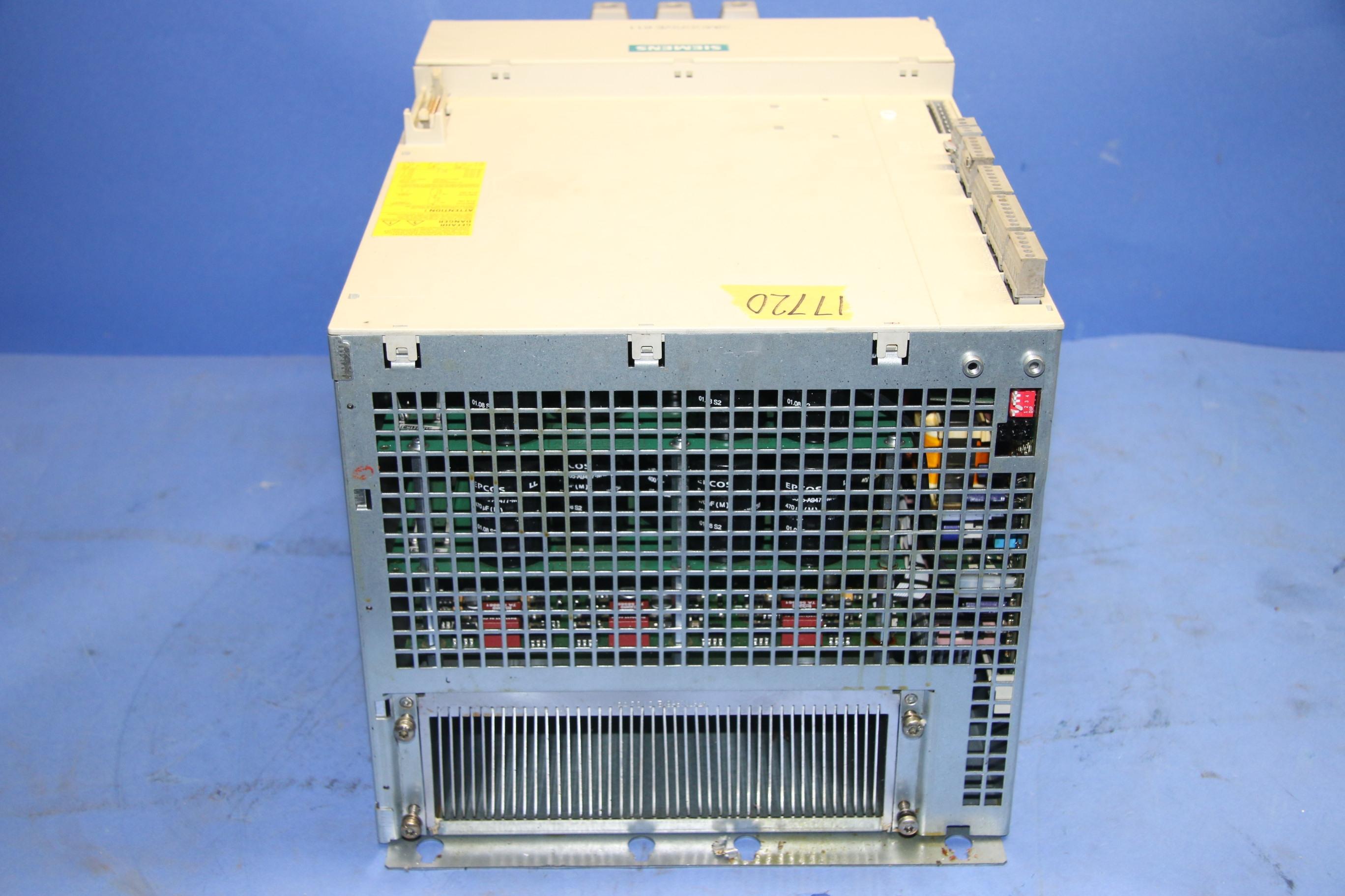 Used Siemens E/R Modul INT Simodrive 17720