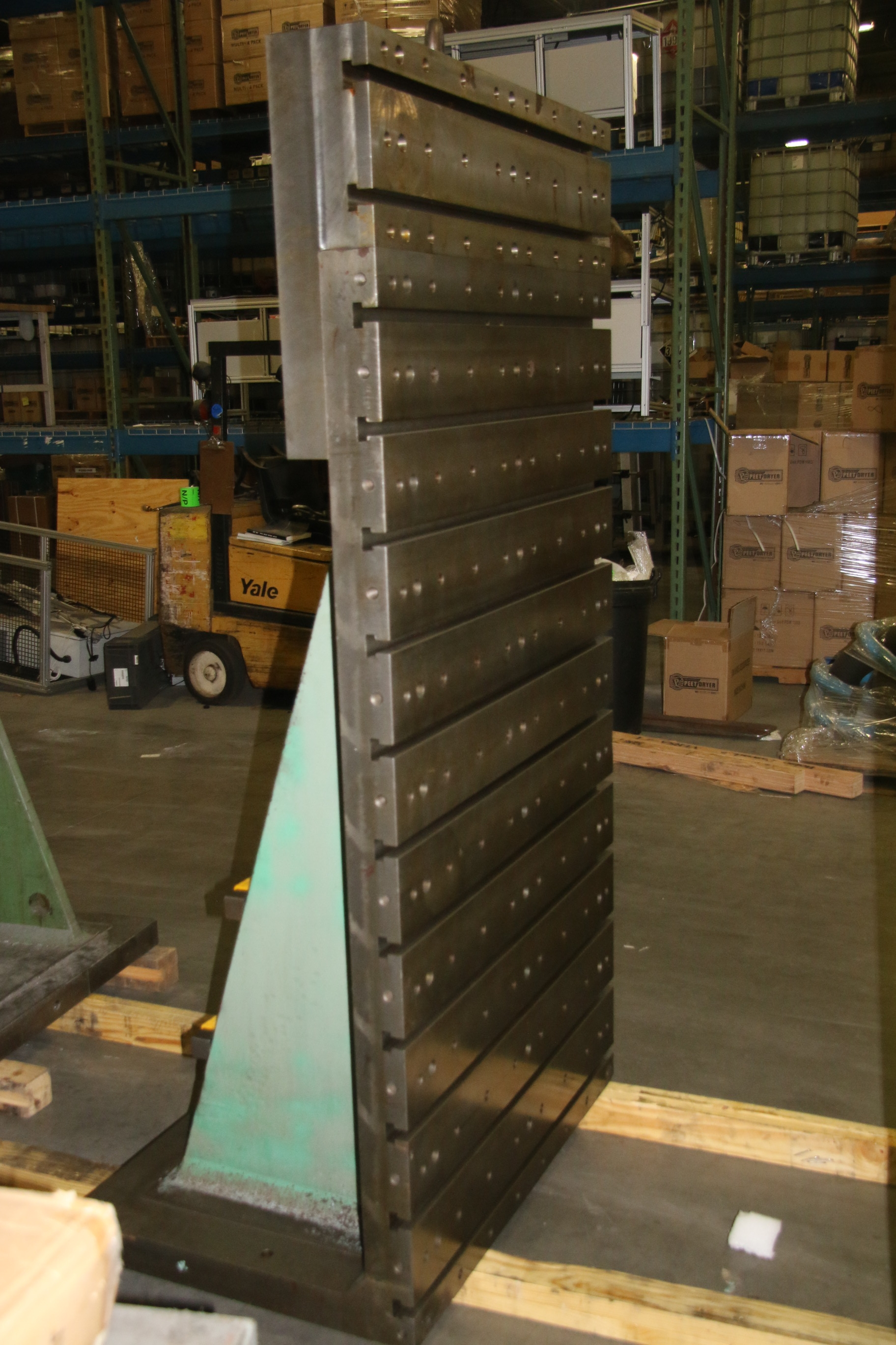 Used T Slotted Angle Plate 41 3/4″ W x 84″ H 17735