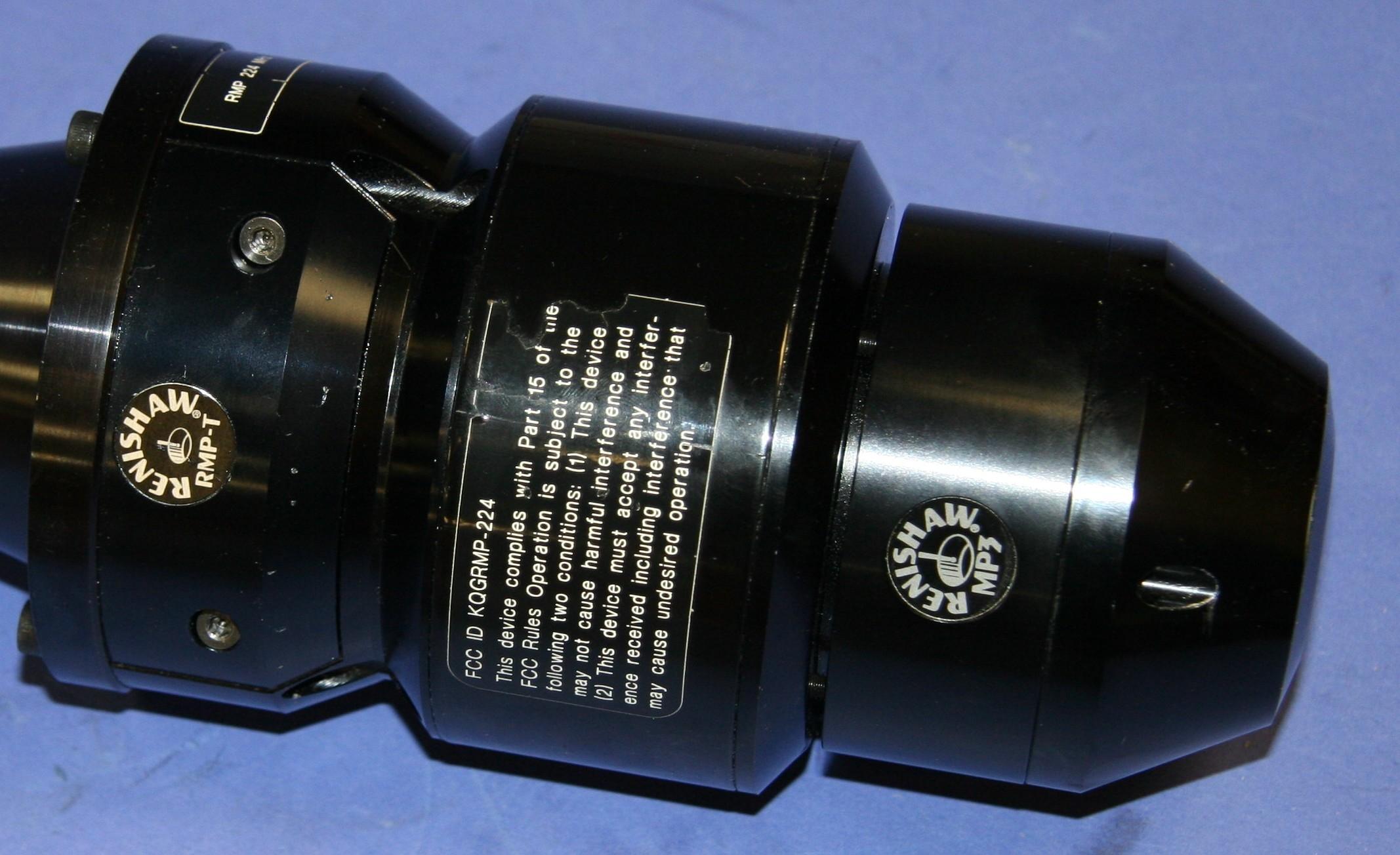 (1) Used Renishaw MP3 Head W/ RMP-T Probe Unit 8960
