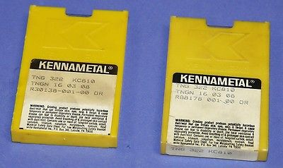 New (20) Kennametal TNG 322 KC810 Carbide Inserts