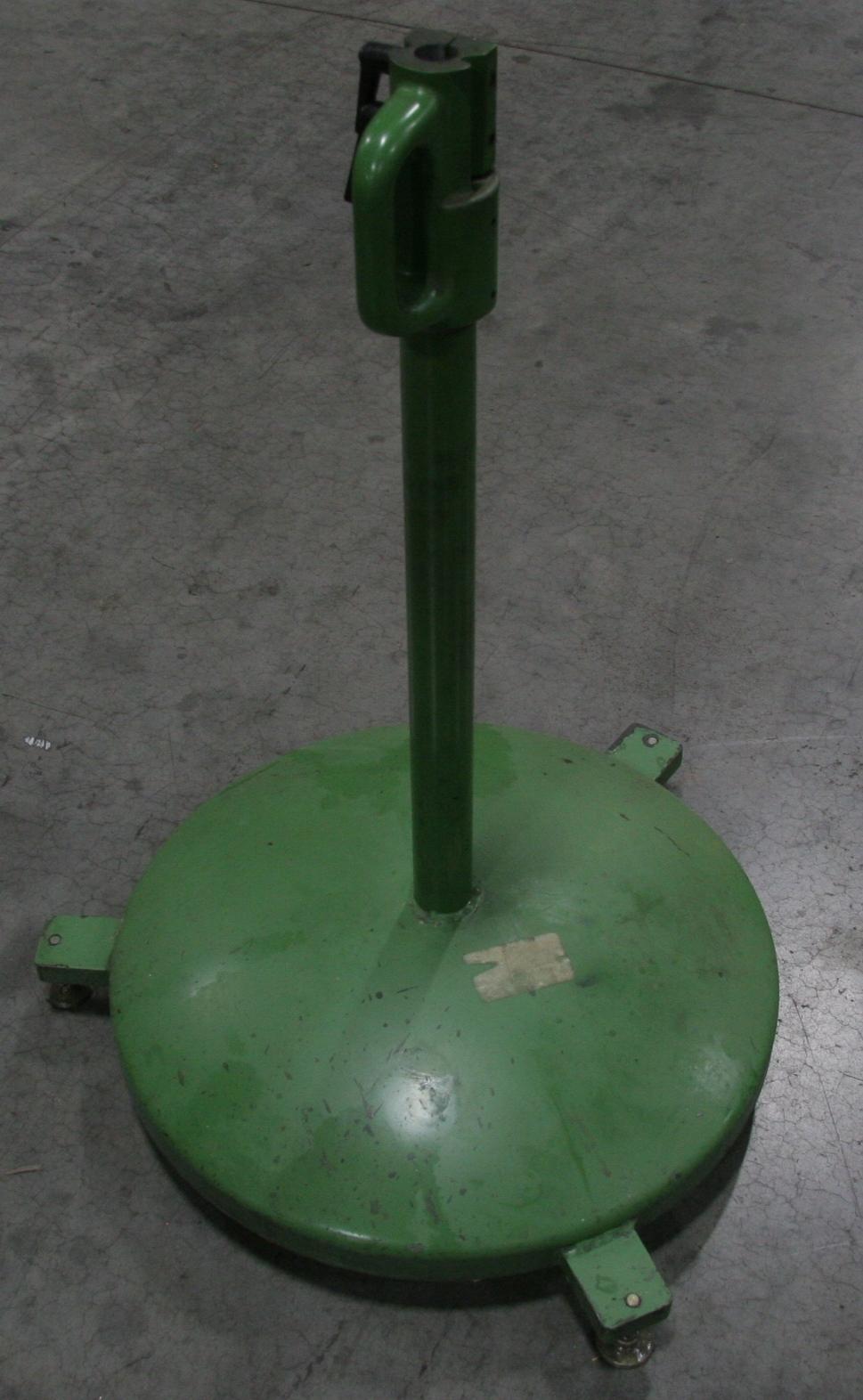 (1) Used Glebar Bar Feed Pusher Stand 9651