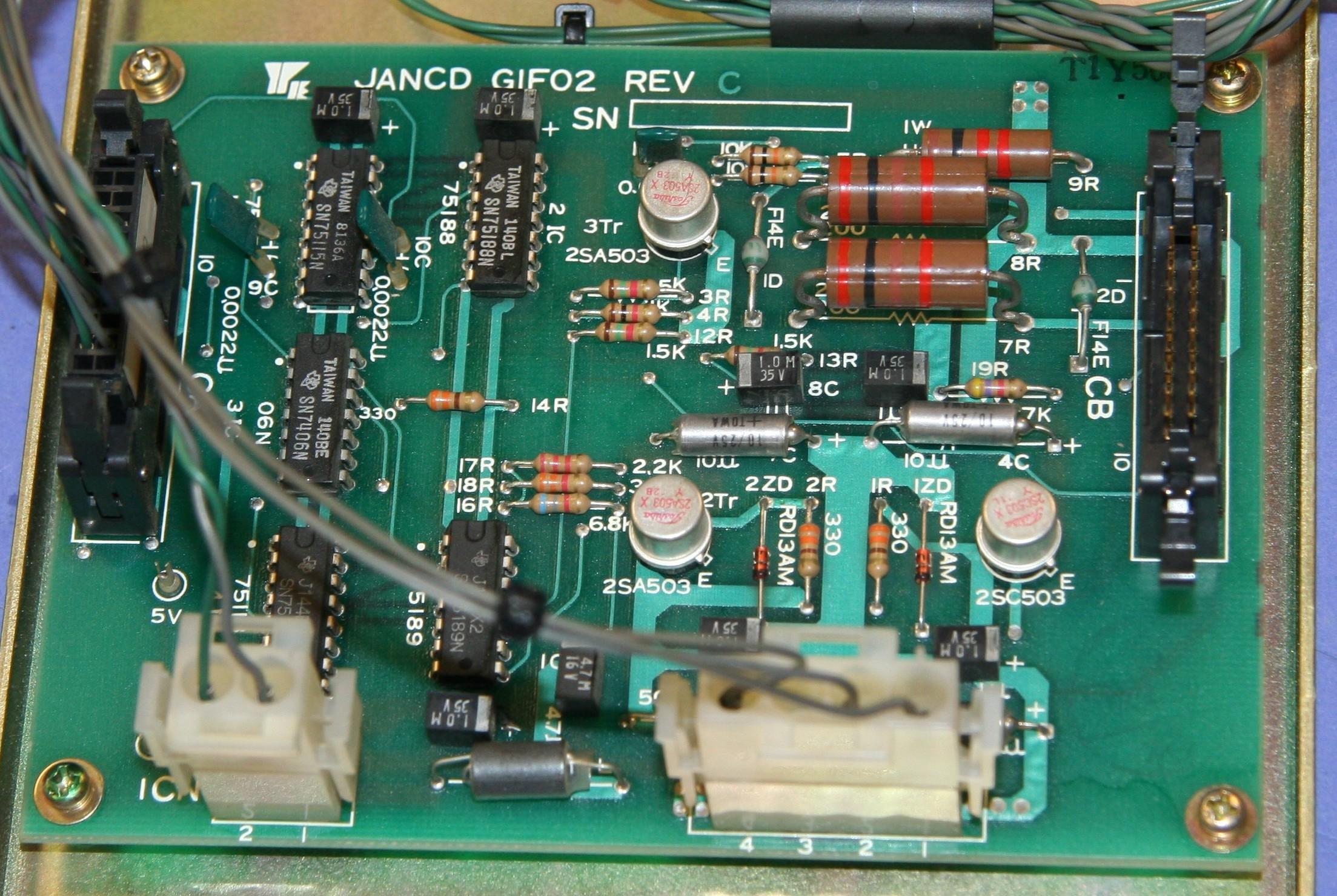 (1) Used Yaskawa JANCD-GIF02 Circuit Board 9808