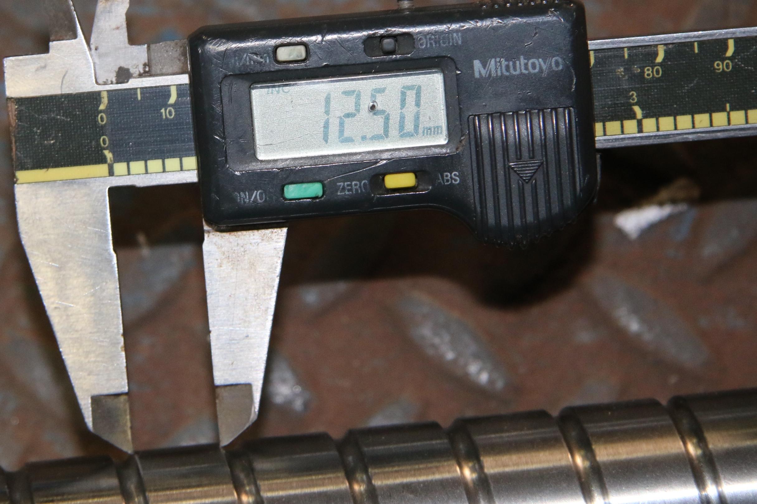 (1) Used Korta: 67043-17 Ballscrew 32mm*-36″ R32-16T4-FSI-800.9-914.4-0.012