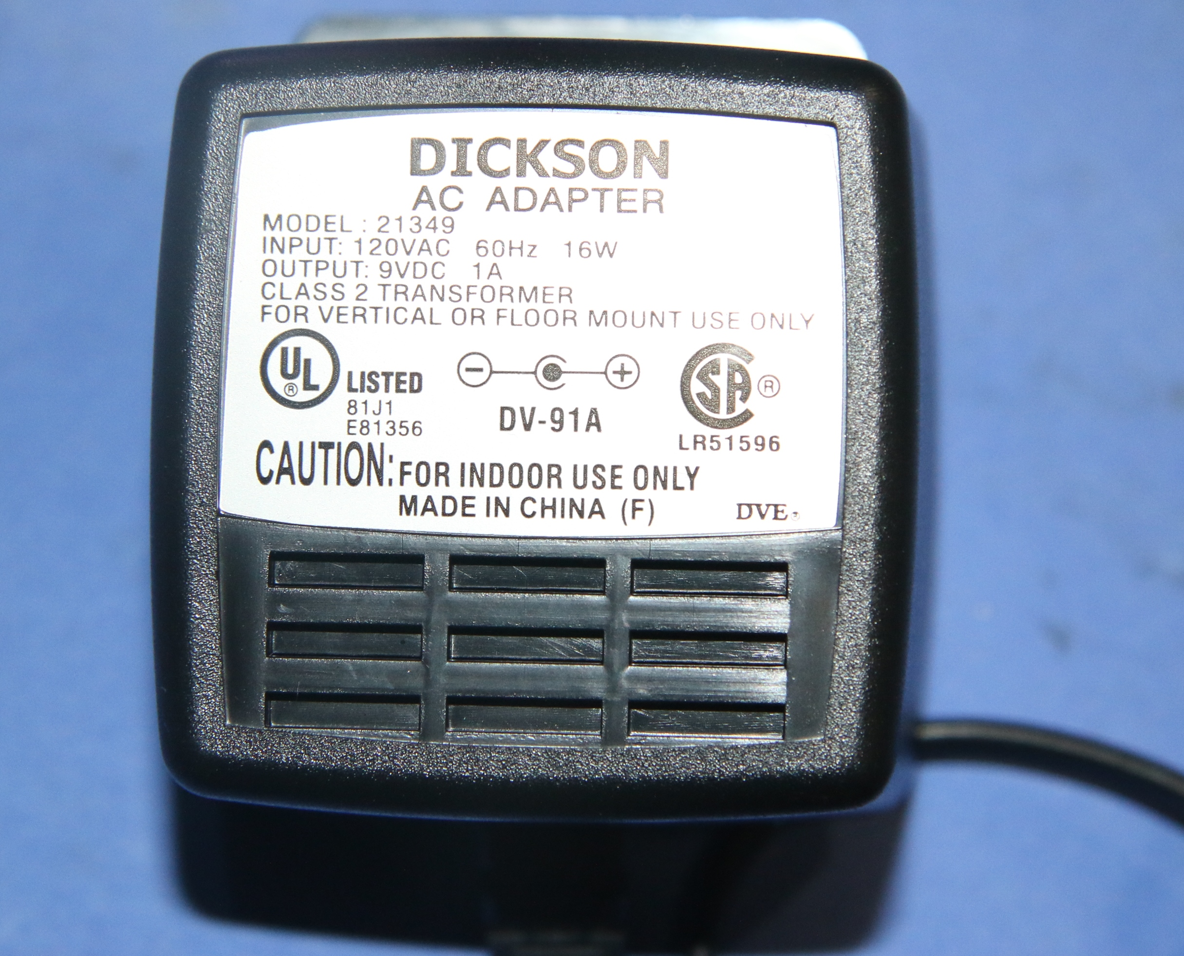 (1) Used Dickson Model TH602 Chart Recorder 6″ Temperature & Humidity